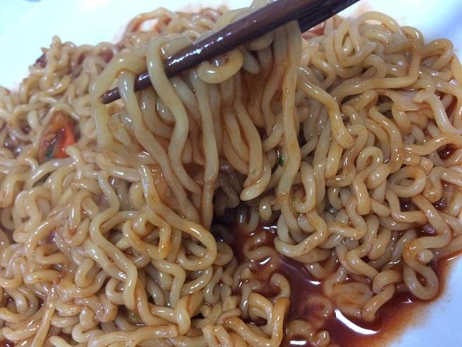マーラーブルダック炒め麺 作り方